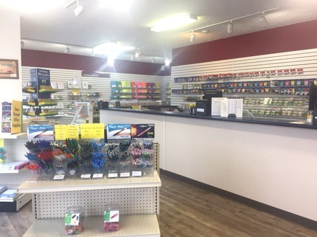 store interior - office supplies and equipment