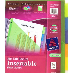 Insertable Pocket Dividers