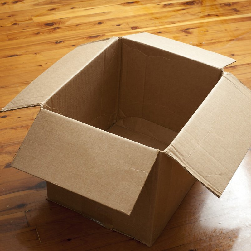 open box for packing